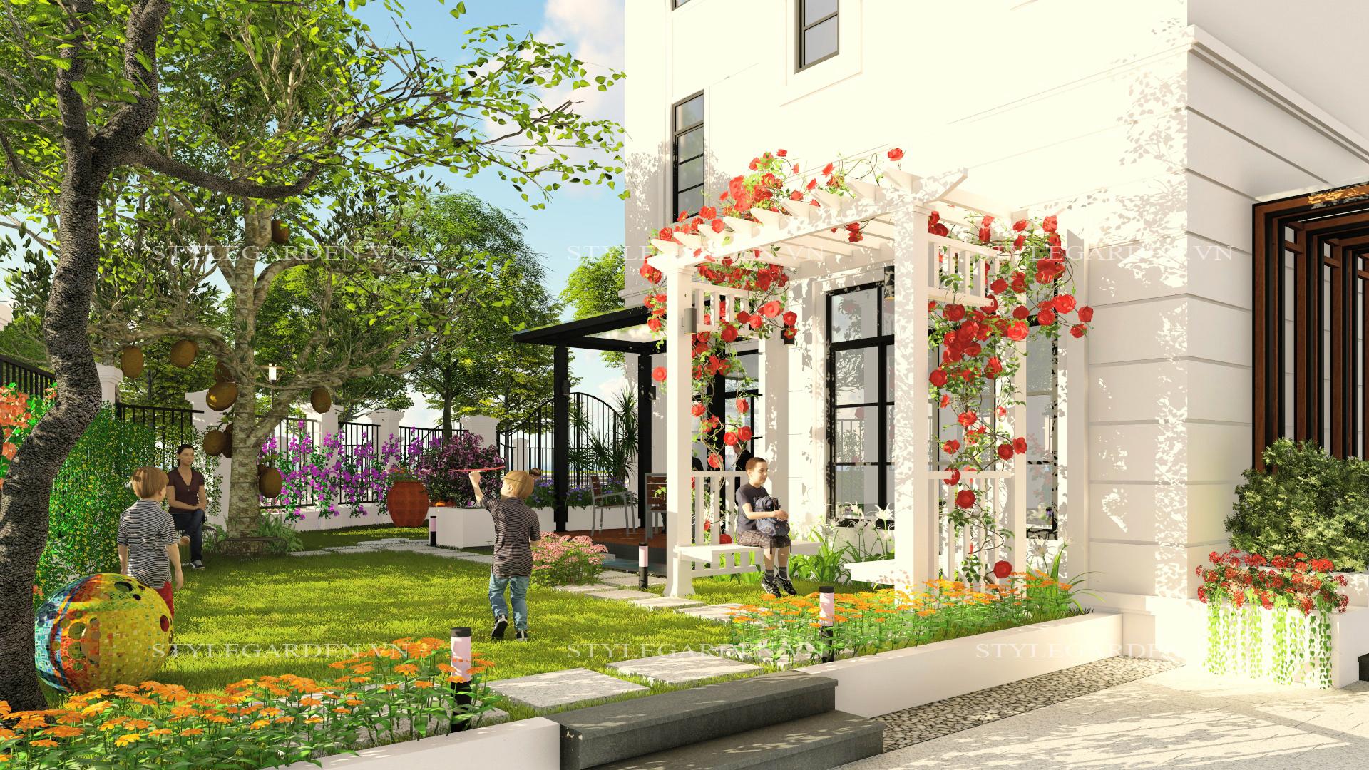 Kết quả hình ảnh cho Vinhomes sân vườn Hải Phòng